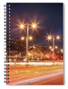 Keep On Moving Spiral Notebook