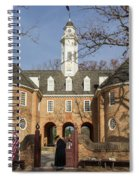 Keeper Of The Gate Spiral Notebook