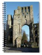 Kelso Abbey Ruin Spiral Notebook