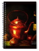The Red Kettle Spiral Notebook