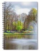 Keukenhof Tulip Garden Holland Spiral Notebook