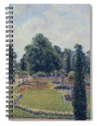Kew Gardens - Path Between The Pond And The Palm House, 1892 Spiral Notebook