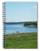 Kielder Water And Marina Bay In Northumberland Spiral Notebook
