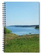 Kielder Water In Northumberland Spiral Notebook