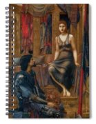 King Cophetua And The Beggar Maid 1884 Spiral Notebook