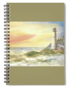 Kingdom By The Sea Spiral Notebook