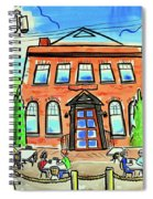 King's Arms Pub Spiral Notebook