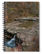 Kings River Waterfall Spiral Notebook
