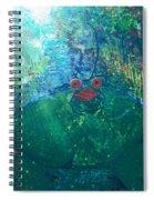 Kiss A Frog Spiral Notebook