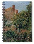 Kitchen Garden In Eragny, Afternoon, 1901 Spiral Notebook
