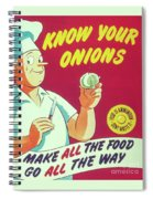 Know Your Onions Spiral Notebook