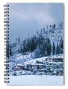 Koprivshtica Winter Panorama Spiral Notebook