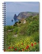 Crimea View, Fiolent Spiral Notebook
