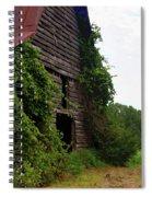 Kudzu Barn 3 Spiral Notebook