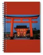 Kyoto Torii Gate Spiral Notebook