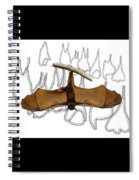 L Is For Little Red Flying Fox Spiral Notebook