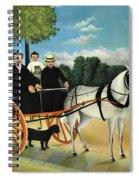 La Carriole Du Pere Junier - Digital Remastered Edition Spiral Notebook