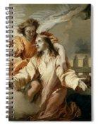 La Oracion En El Huerto   Spiral Notebook
