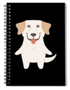 Labrador Retriever Gift Idea Spiral Notebook