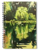 Lac D'or Spiral Notebook