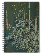 Lacy Edge Spiral Notebook