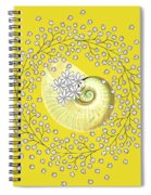 Lacy Look Shell Spiral Notebook