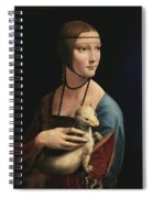 Lady With An Ermine, 1489 Spiral Notebook