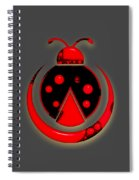 Ladybug Collection Spiral Notebook