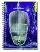 Lagonda Spiral Notebook