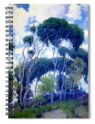 Laguna Eucalyptus 1917 Spiral Notebook