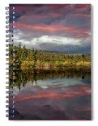 Lake Bodgynydd Sunset Spiral Notebook