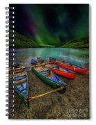 lake Geirionydd Canoes Spiral Notebook