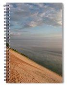 Lake Michigan Overlook 11 Spiral Notebook