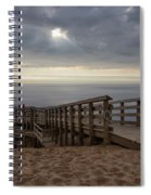 Lake Michigan Overlook 6 Spiral Notebook