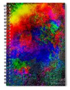 Lake Of Fire Spiral Notebook