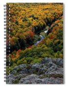Lake Of The Clouds 7 Spiral Notebook