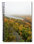 Lake Of The Clouds 9 Spiral Notebook