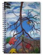Lake Reflections - Autumn Spiral Notebook