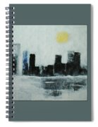 Lake Shore Misty Morn' Spiral Notebook