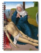 Lamentation Over The Body Of Christ Spiral Notebook