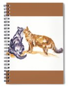 L'amour - Cats In Love Spiral Notebook