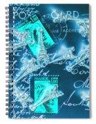 Landmark Love Letter Spiral Notebook