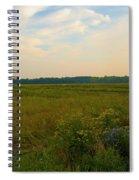 Salt March Landscape  Spiral Notebook