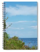Landscape By The Sound Spiral Notebook