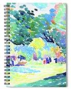 Landscape - Digital Remastered Edition Spiral Notebook