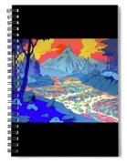 Landscape River Spiral Notebook