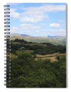 Landscape View From Little Langdale Spiral Notebook