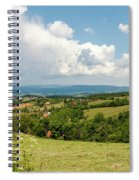 Landscape With Orchards Spiral Notebook