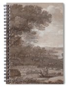 Landscape With The Rest On The F  Spiral Notebook