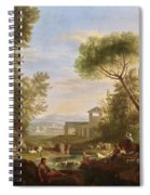 Landscape With Water Spiral Notebook